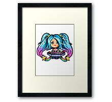 Arcade Sona - Pure Pixel Power Framed Print