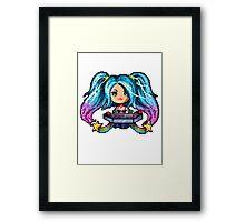 Arcade Sona - Pure Pixel Power Framed Print