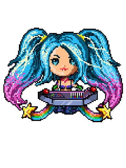 Arcade Sona - Pure Pixel Power by Pixel-League
