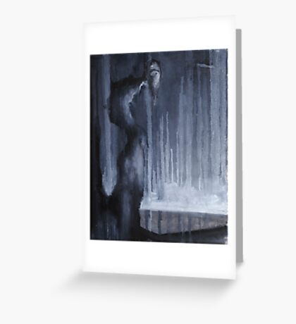 Nocturn 30: Djinn, the hidden Storyteller Greeting Card