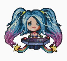 Arcade Sona - Pure Pixel Power One Piece - Long Sleeve