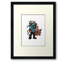 Varus The Pixel Sniper Framed Print