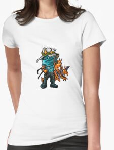 Varus The Pixel Sniper Womens Fitted T-Shirt
