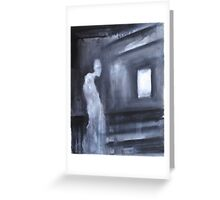 Nocturn 24: the Ghost of the Mansard Greeting Card