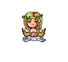 Pixel Sona, Muse Of The Strings Photographic Print