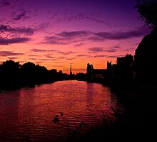 Worcester Sunset by MAC-Photography