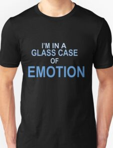 In a glass case of emotion  T-Shirt