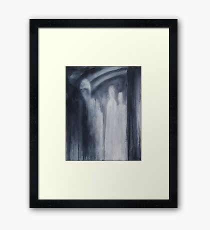 Nocturn 11: Three was our Number Framed Print