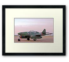 Messerschmitt Me 262 - Swallow Framed Print