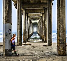 Contemplation at the Pier by Reese Ferrier