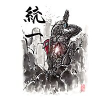 Mass Effect Legion Sumie style Photographic Print