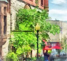 North Pearl Street, Albany, NY by Susan Savad