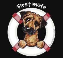 Border Terrier :: First Mate Kids Tee