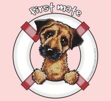 Border Terrier :: First Mate One Piece - Long Sleeve