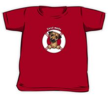 Border Terrier :: First Mate Kids Tee