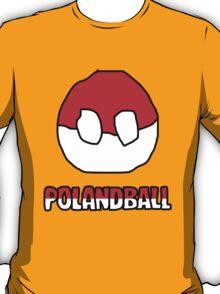 Polandball Shirt T-Shirt