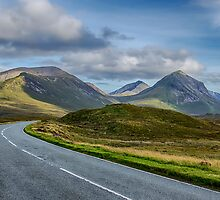 The Cuillin Mountains of Skye 2 by Chris Thaxter