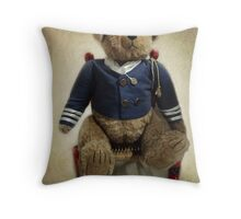 Admiral Bear Throw Pillow