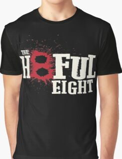 The Hateful Eight Westren Graphic T-Shirt