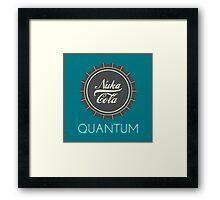 Nuka Cola Quantum Framed Print
