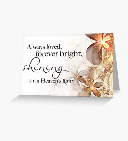 Shining Bright Greeting Card