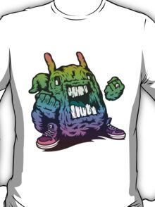 Rainbow Monster Illustration. T-Shirt