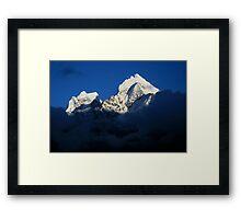 Dusk in the Himalayas Framed Print