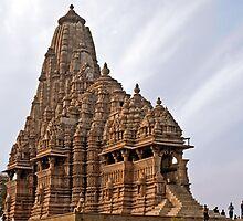 Kandariya Mahadeva Temple (Khajuraho) by Chandra Kuchibhotla