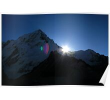 Sunrise in the Himalayas Poster