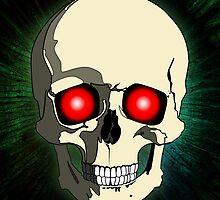Scary Skull by Piero