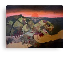 When Zombie Turtles Attack! Canvas Print