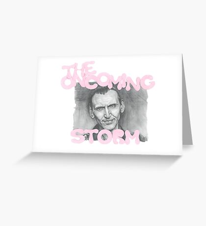 The Oncoming Storm Greeting Card