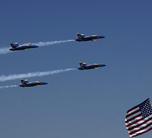 Blue Angel & The American by Tina Hailey