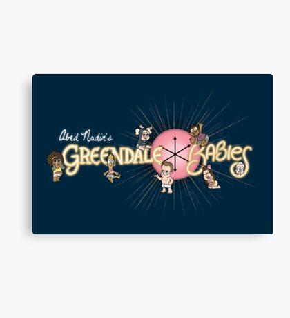 Greendale Babies Canvas Print