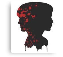 katniss & peeta Canvas Print