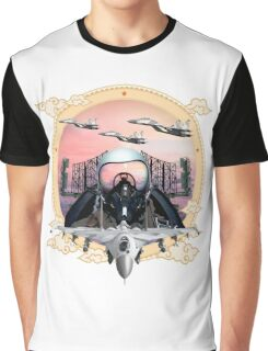 Jet Fighter Graphic T-Shirt