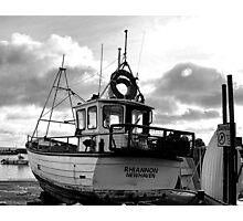 Favourite Boat At Lyme Dorset- UK Photographic Print