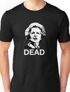 Dead (black or dark fabric) Unisex T-Shirt