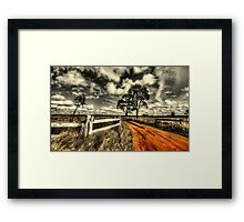 No Through Road... Framed Print