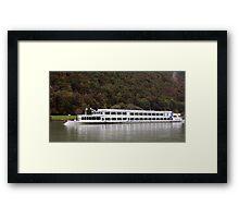 Passau From The Danube Framed Print