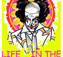 binky the clown lives in the FUN LANE by resonanteye