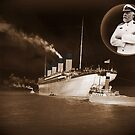 ☝ ☞ EJ SMITH CAPTAIN OF THE TITANIC-Titanic leaving Belfast with two guiding tugs ☝ ☞ by ╰⊰✿ℒᵒᶹᵉ Bonita✿⊱╮ Lalonde✿⊱╮