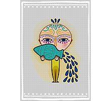 aquarius zodiac sign Photographic Print