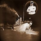 ☝ ☞ EJ SMITH CAPTAIN OF THE TITANIC IPAD CASE-Titanic leaving Belfast with two guiding tugs ☝ ☞ by ╰⊰✿ℒᵒᶹᵉ Bonita✿⊱╮ Lalonde✿⊱╮