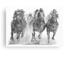 Birdsville Races Canvas Print