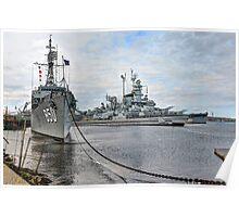 Battleship Cove (HDR) Poster