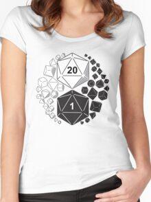 Gaming Yin Yang Women's Fitted Scoop T-Shirt