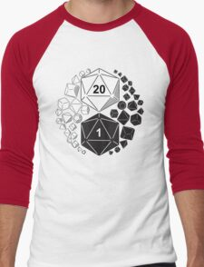 Gaming Yin Yang Men's Baseball ¾ T-Shirt