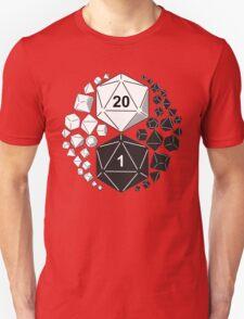 Gaming Yin Yang Unisex T-Shirt