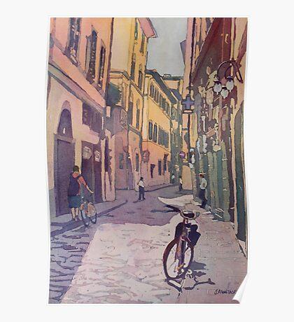 Waiting Bike Poster